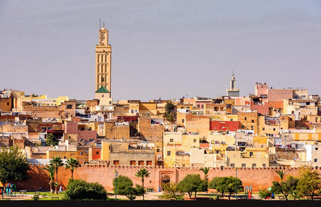 Meknes i Marocko är på listan över trendiga städer 2019
