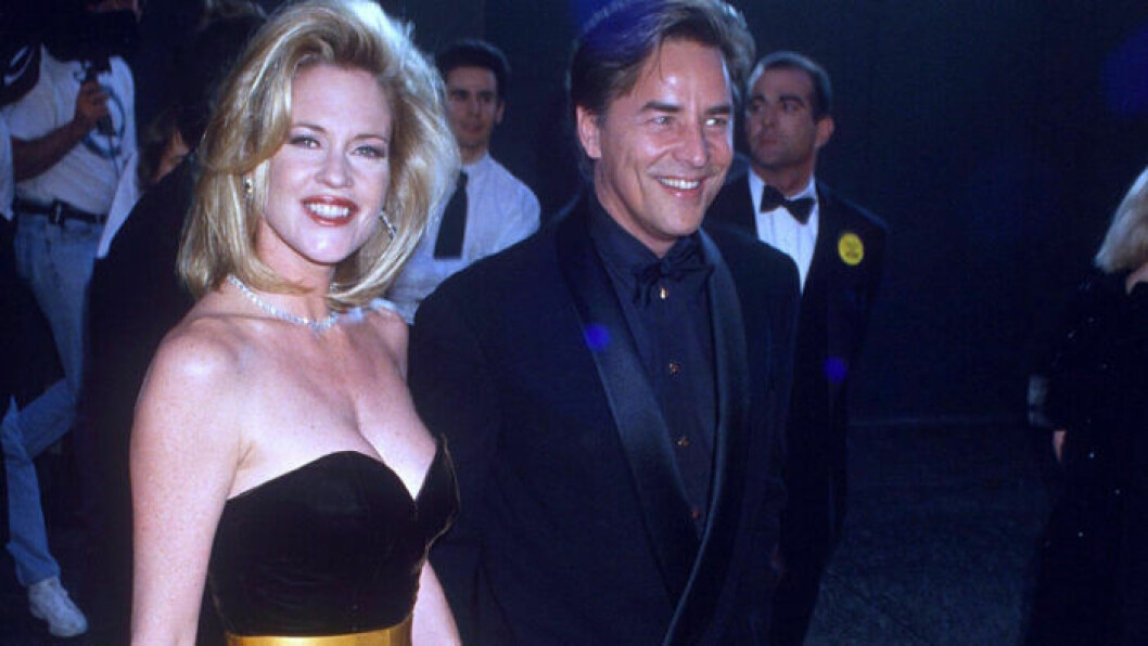 Don Johnson och Melanie Griffith