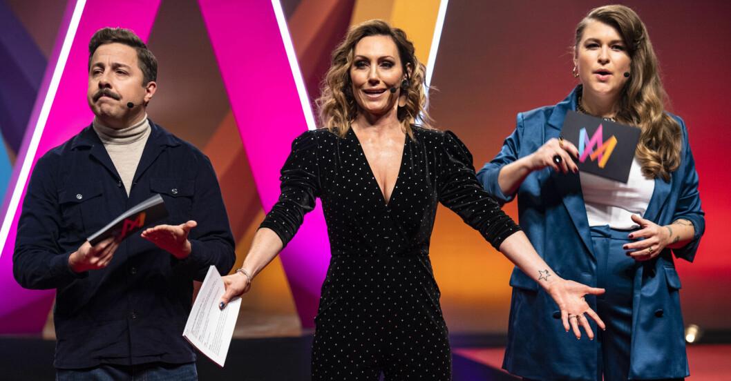 Melodifestivalen 2020. Programledare.