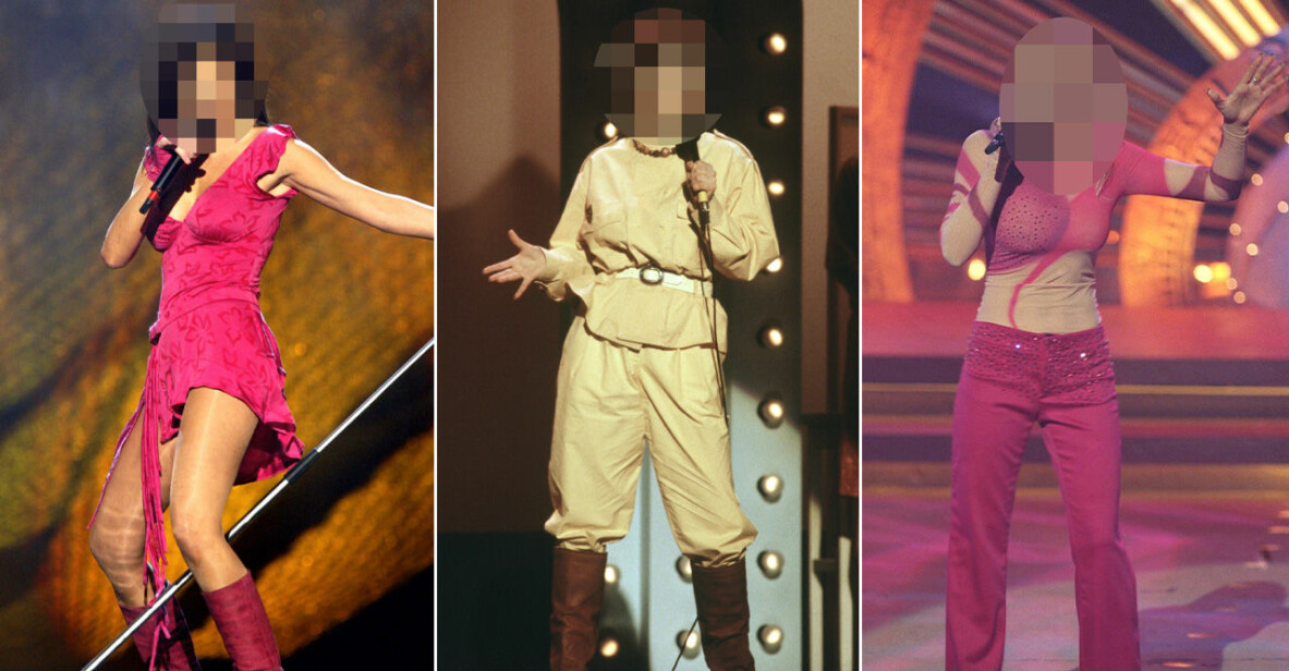 olika kläder i Melodifestivalen