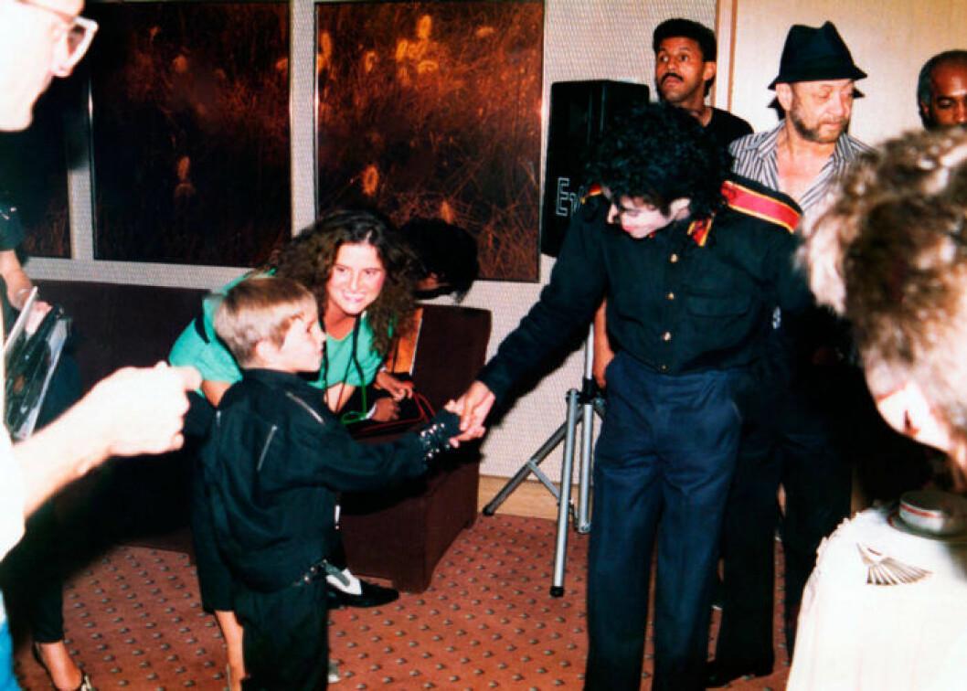 Michael Jackson och Wade Robson