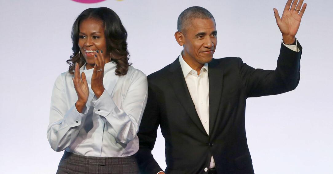 Michelle och Barack Obama.