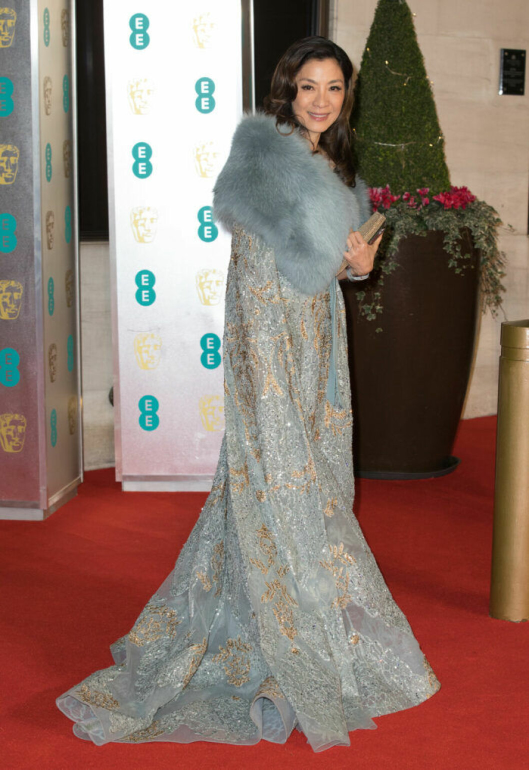 Michelle Yeoh på BAFTA 2019