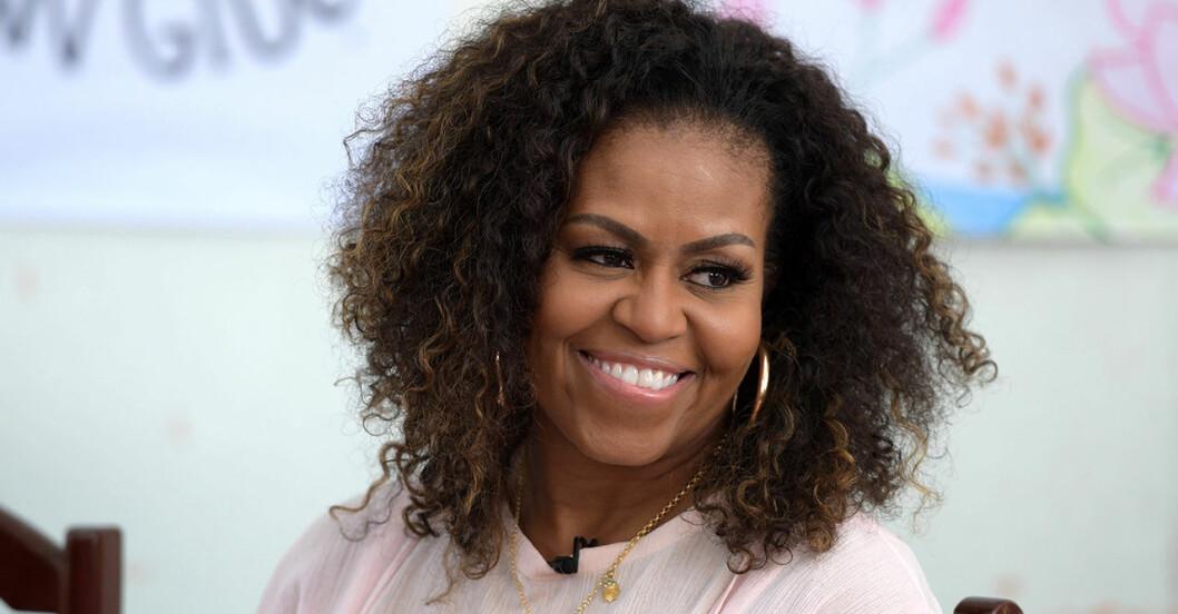 Här är Michelle Obamas kollektion som ska få fler att rösta