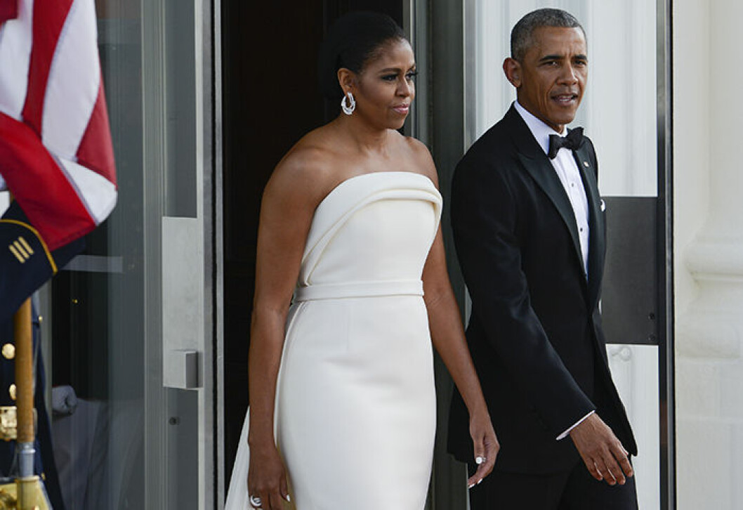 United States Barack Obama and the First Lady Michelle Obama United States President Obama and the First Lady Michelle Obama await the arrival of Prime Minister Lee Hsien Loong and Madam Ho Ching at the North Portico of the White House in Washington, DC.