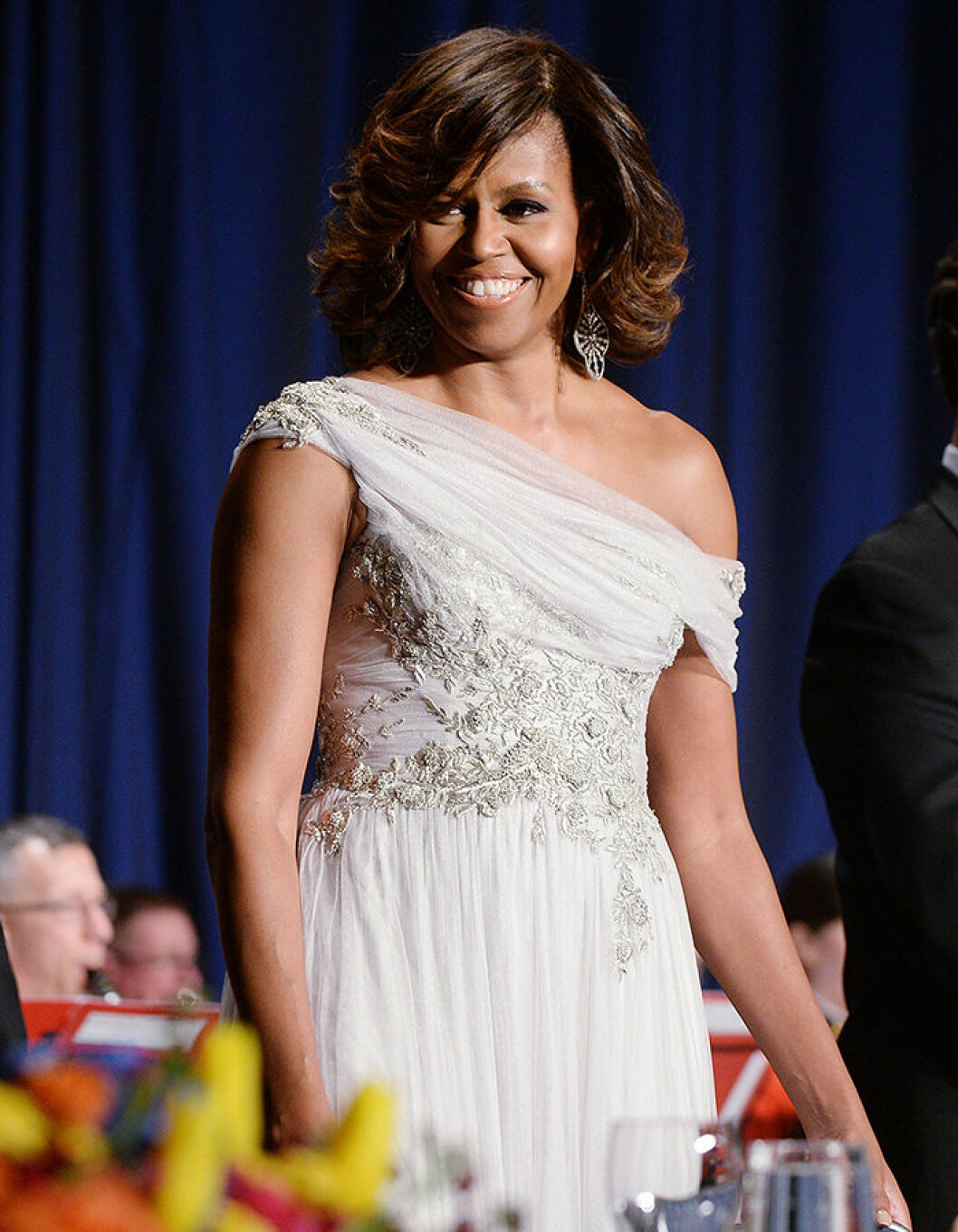 First Lady Michelle Obama attends the annual White House Correspondent's Association Gala at the Washington Hilton Hotel, May 3, 2014 in Washington, DC. Photo Credit: Olivier Douliery/CNP/AdMedia/insight media