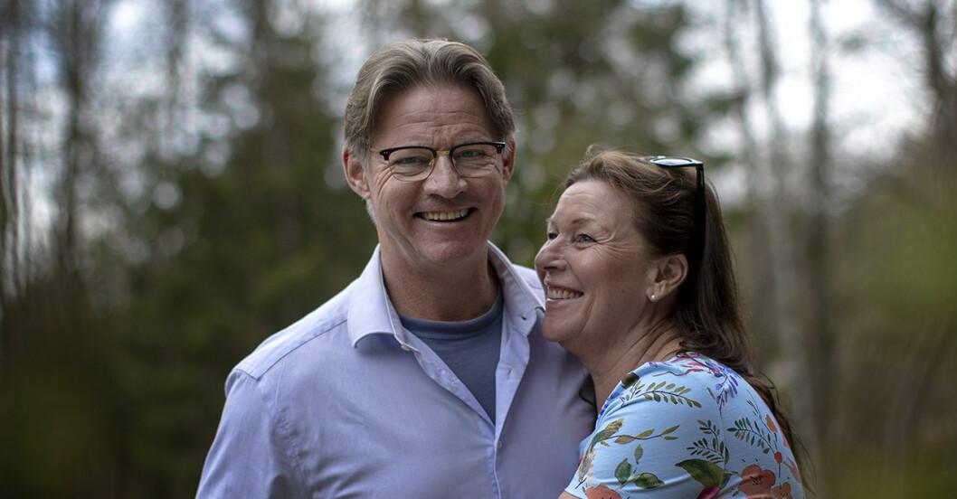 Doktor Mikael Sandströms familjelycka – har fått sitt fjärde barnbarn