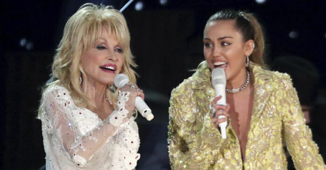 Dolly Parton, Miley Cyrus