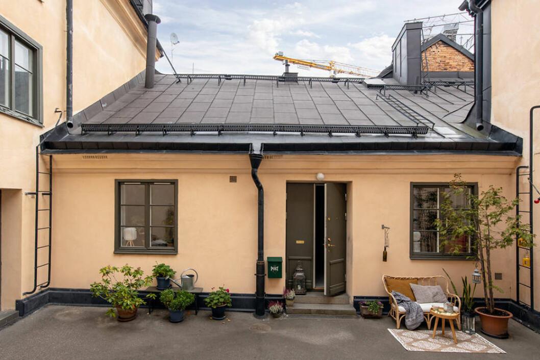 Gårdshus på Södermalm nu till salu