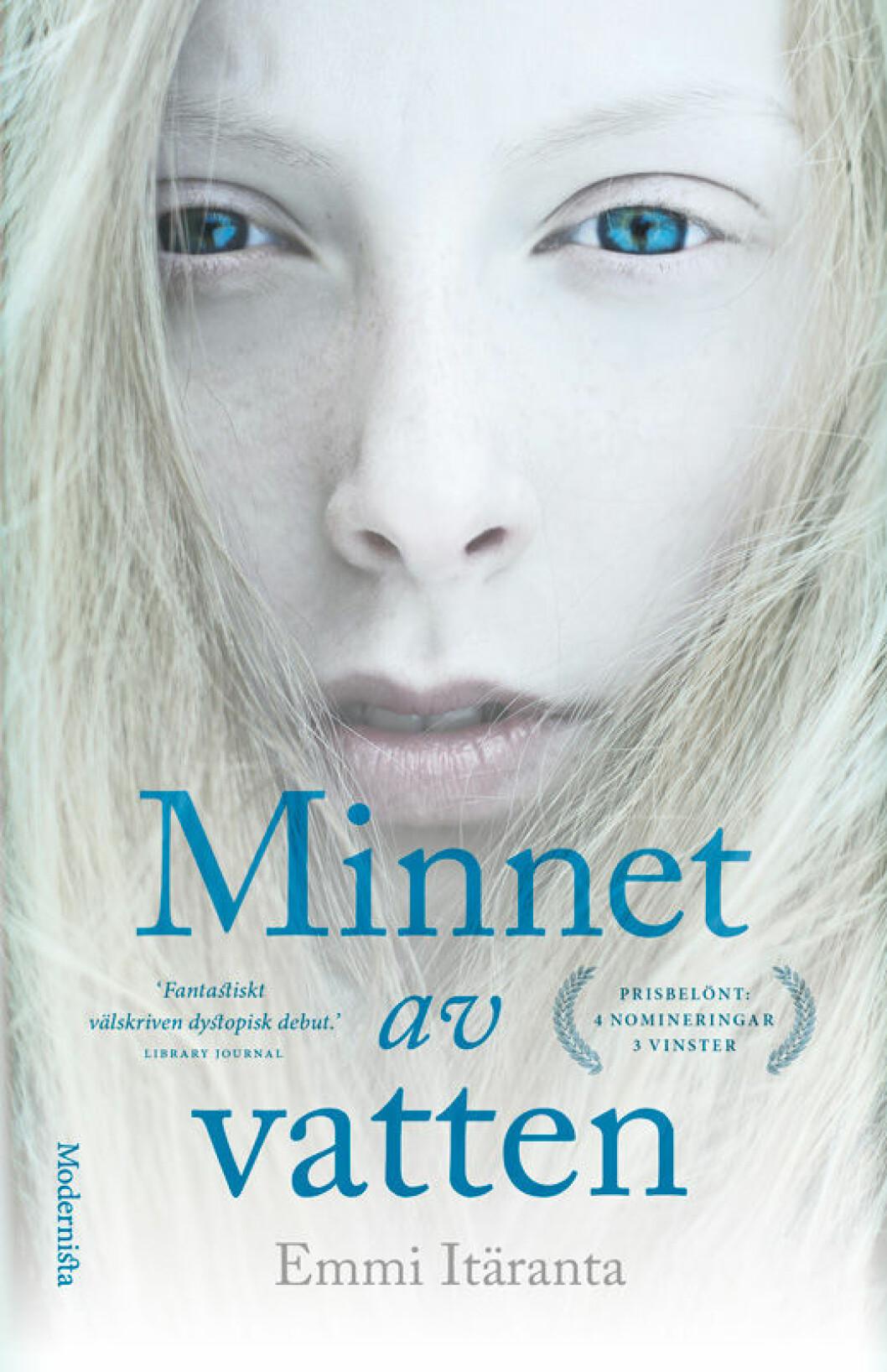 Minnet av vatten, en dystopisk bok av Emmi Itäranta.