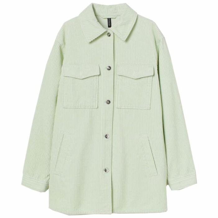 ljusgrön skjortjacka i manchester