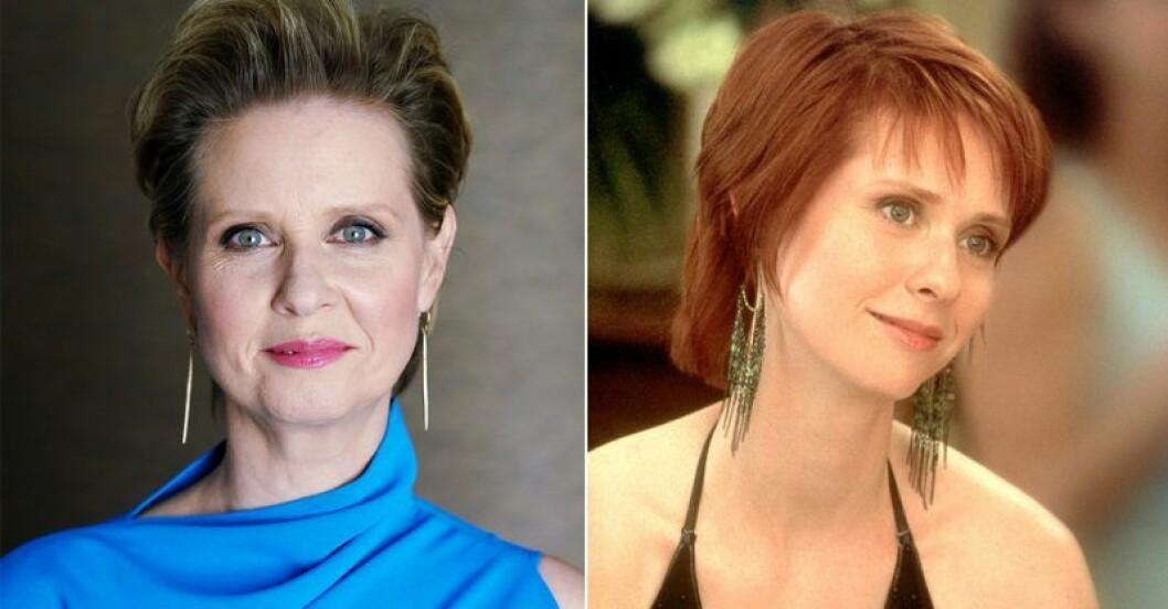 Cynthia Nixon vs Miranda Hobbes