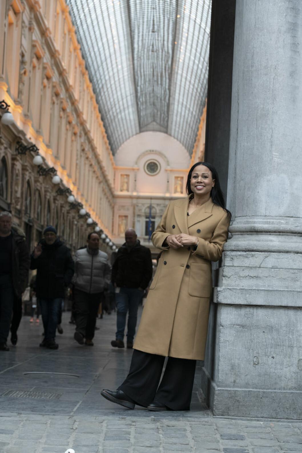 Alice Bah Kuhnke berättar om nya livet i Bryssel.