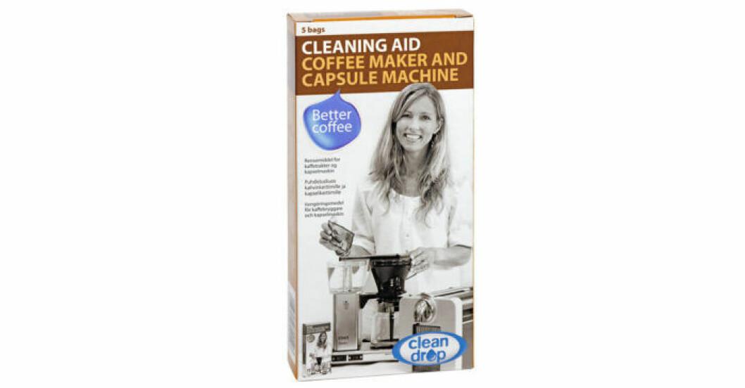 Moccamaster Clean Drop är rengöringsmedel för kaffebryggare