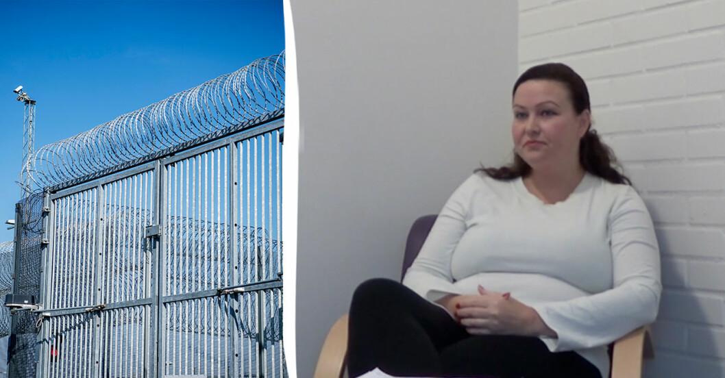 Johanna Möller sitter på anstalten i Ystad.