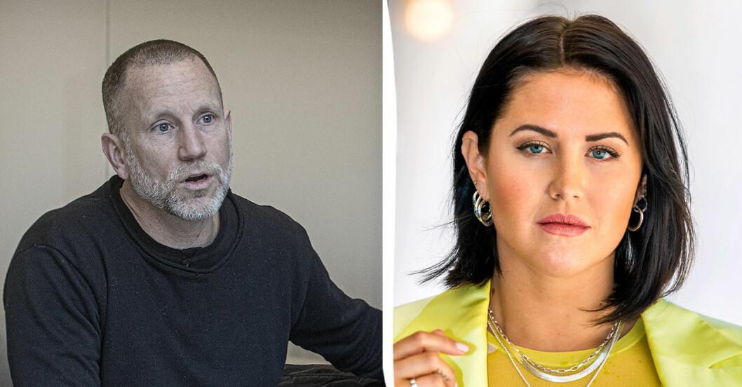 Peter Jihde och Molly Sandén.