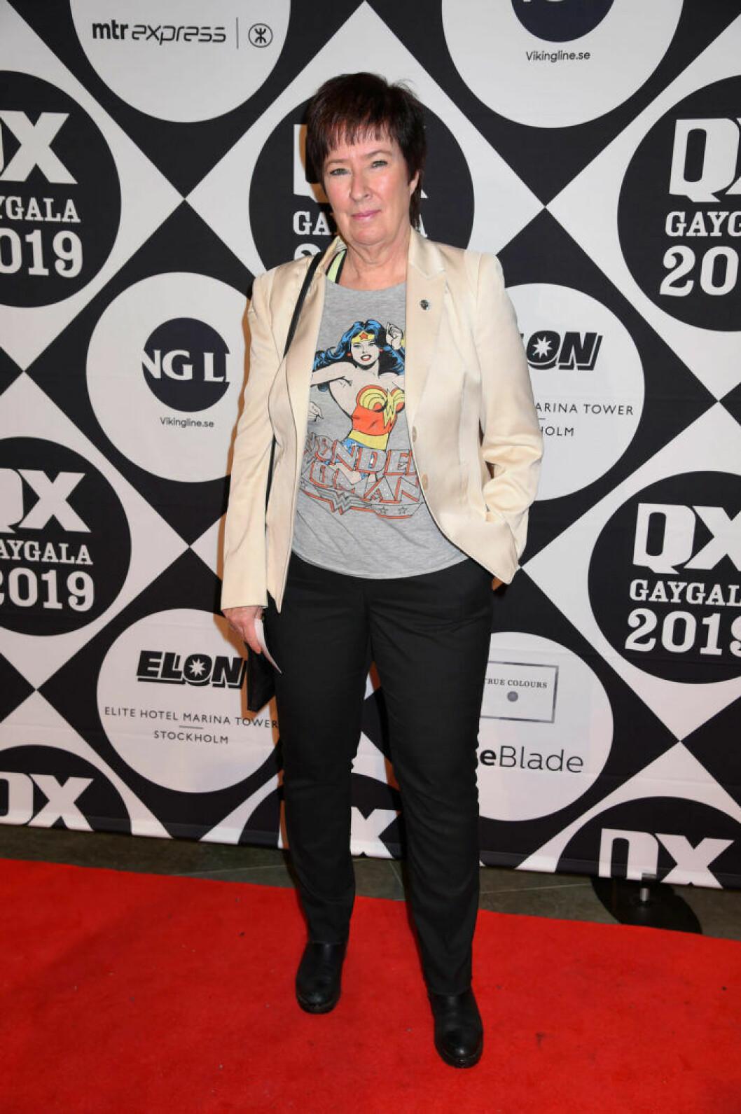 Mona Sahlin på QX-galan 2019