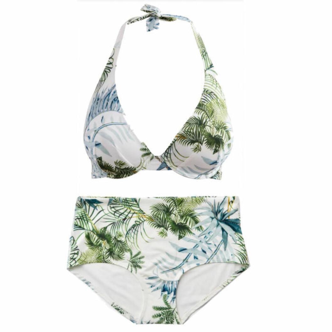 Mönstrad bikini från Lindex