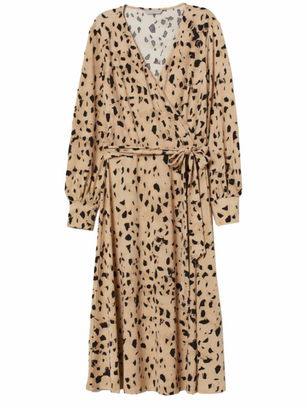 Mönstrad klänning från H&M