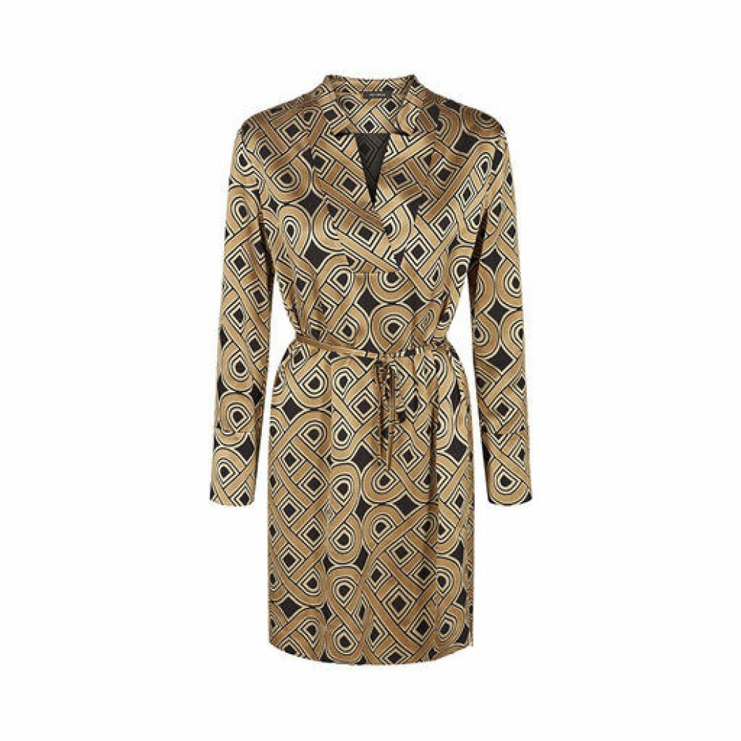 Guldmönstrad klänning från Mos Mosh
