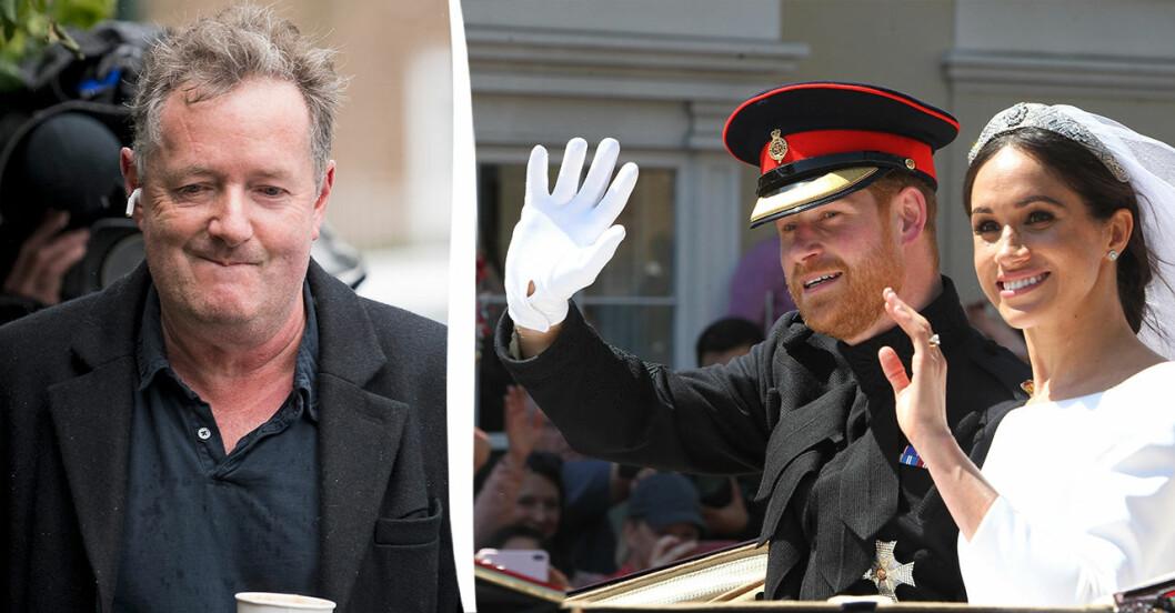 Piers Morgan tackar för sig efter en rad kritiserade uttalanden.