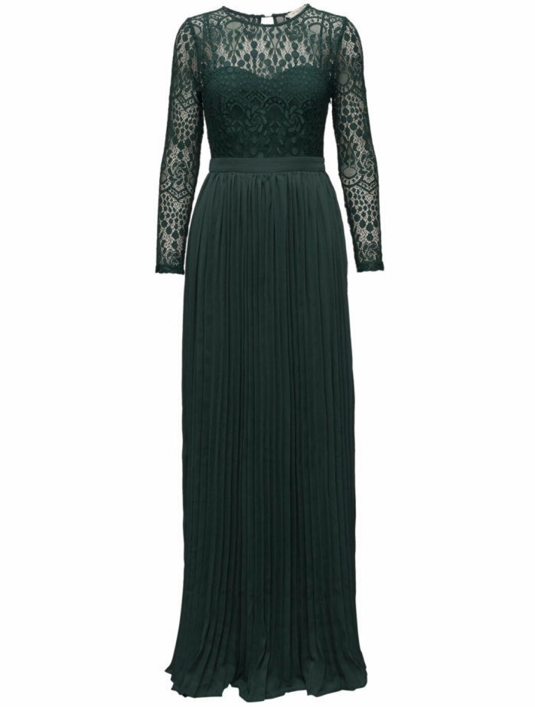 mörkgröna maxiklänningar