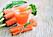 Nyttiga shots med morötter