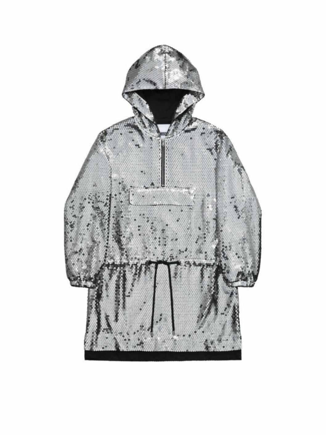 Anorak med silverpaljetter Moschino [tv] H&M