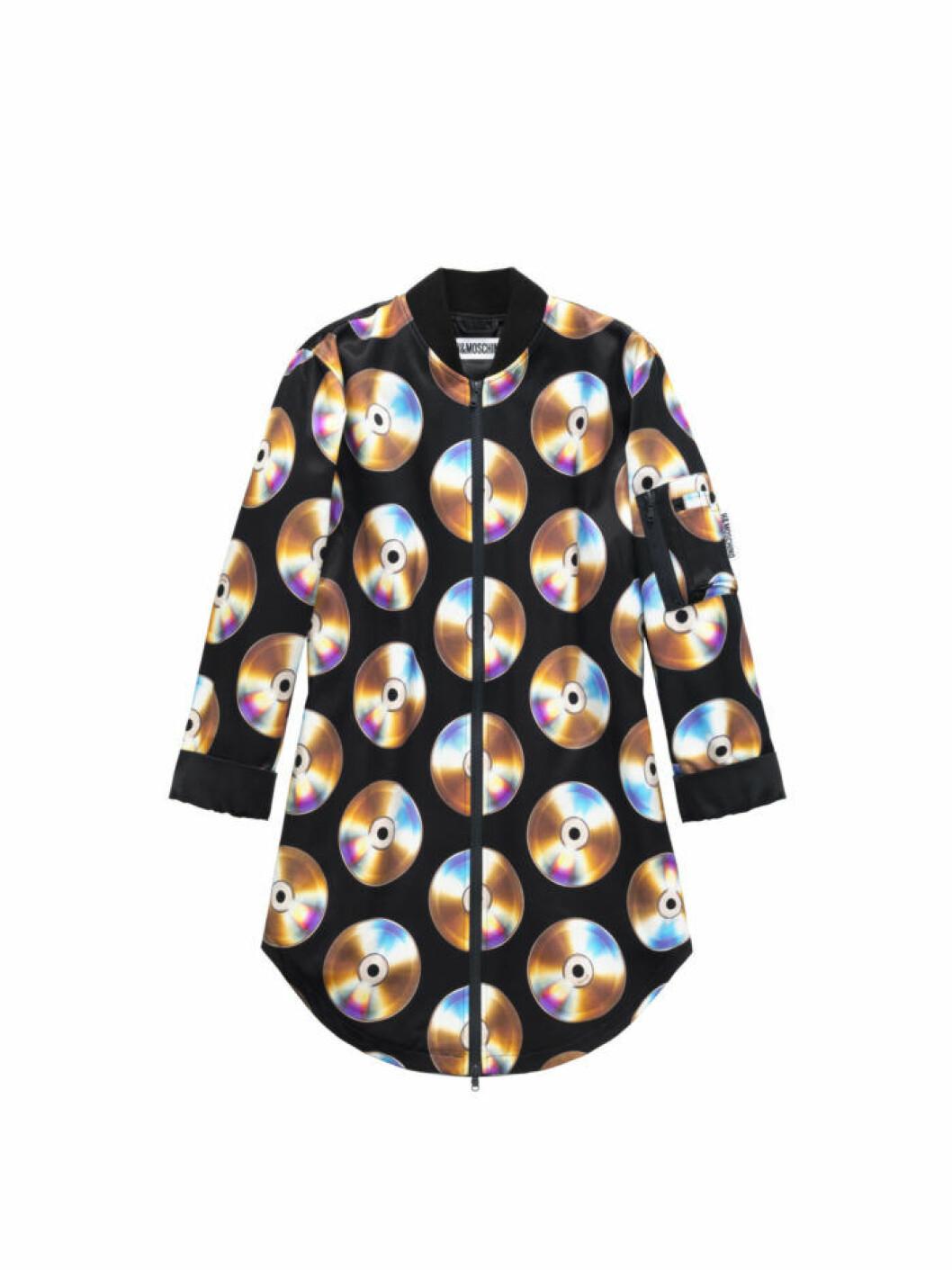 Klänning med cd-skiveprint Moschino [tv] H&M
