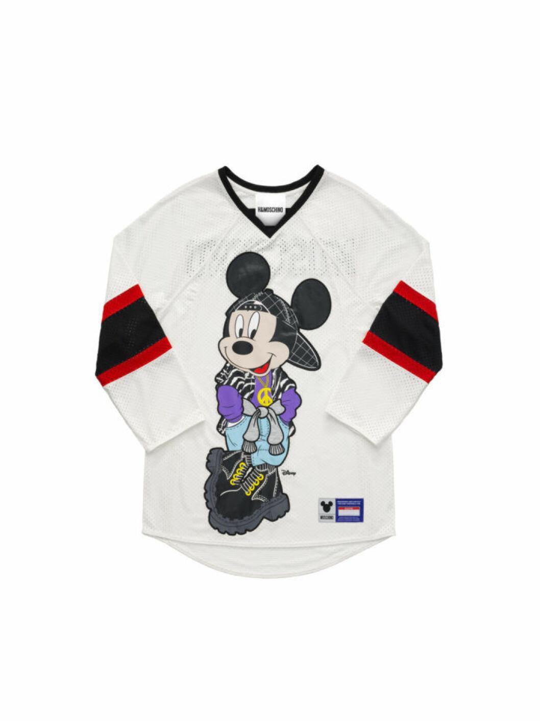 Sportig tröja med Musse Pigg Moschino [tv] H&M