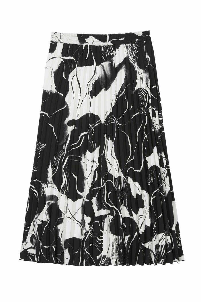 Plisserad kjol