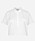 Vit kortärmad skjorta med bröstfickor. Kort modell. Skjorta från Munthe.