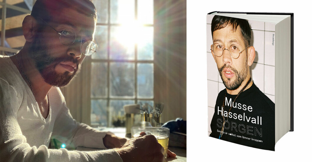 Musse Hasselvall har skrivit en bok om sorg.