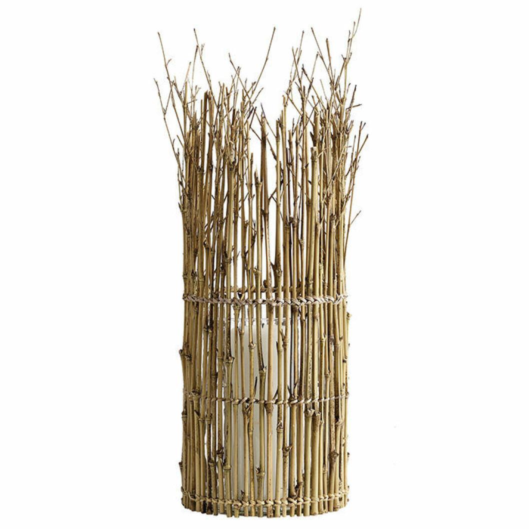 Ljuslykta i bambu från Muubs
