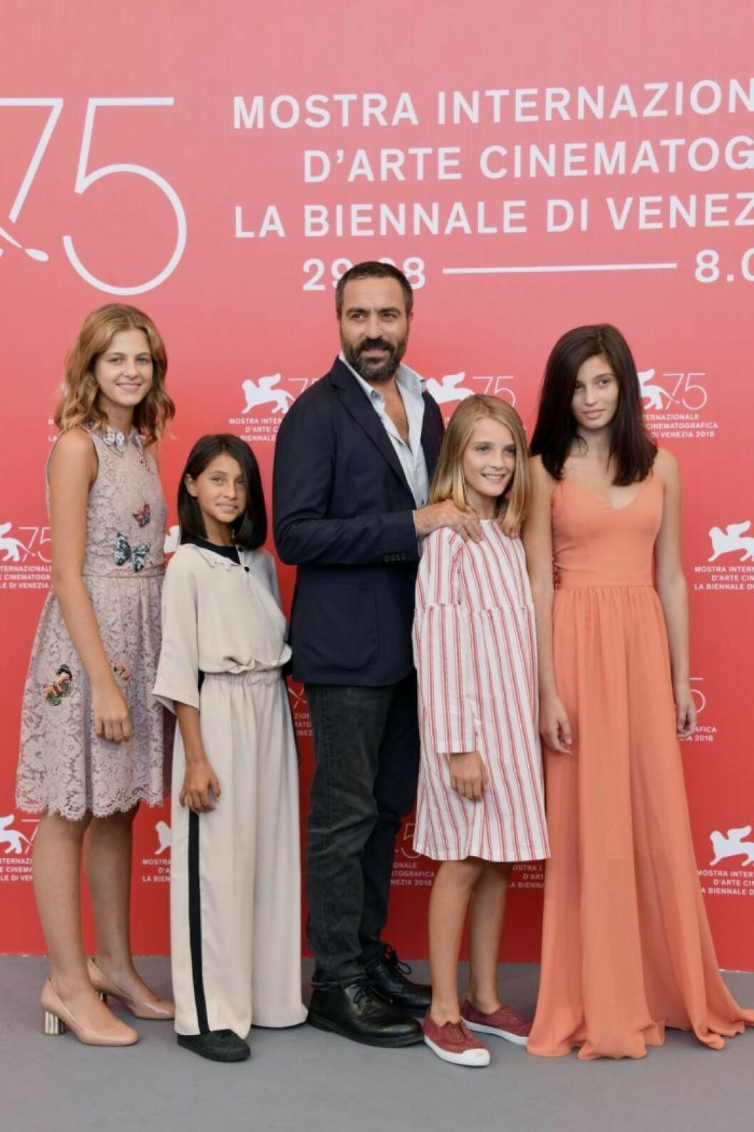 My Brilliant Friend, huvudrollsinnehavarna och regissören på Venedigs filmfestival