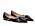 Svarta, spetsiga ballerinas med strassremmar som ett kors över foten. Ballerinas, Jimmy Choo/Mytheresa.com