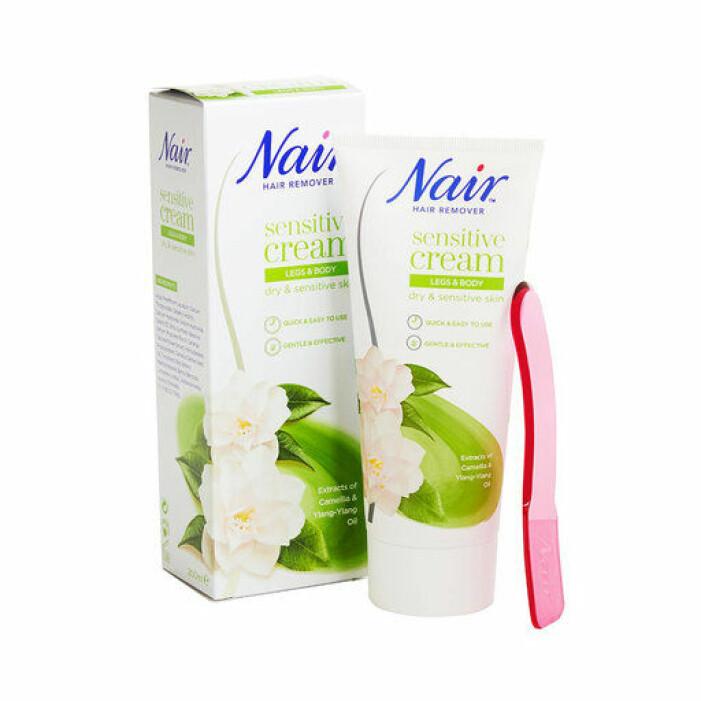 mild hårborttagningscreme