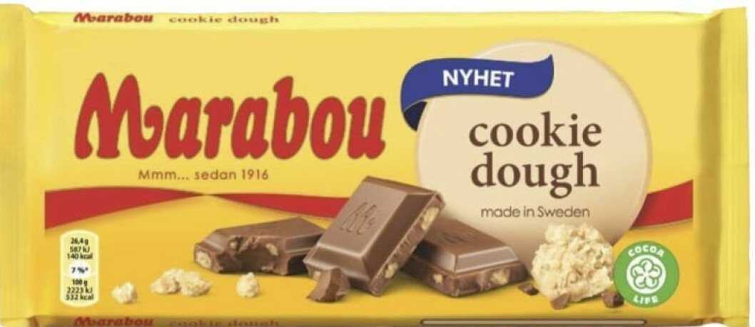 Marabou Cookie dough.