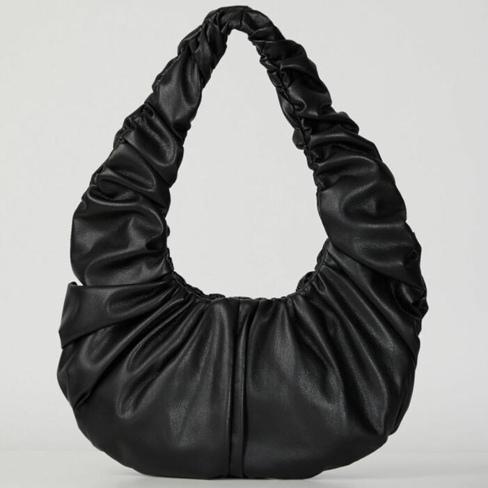 Nanushka Anja Baguette i svart