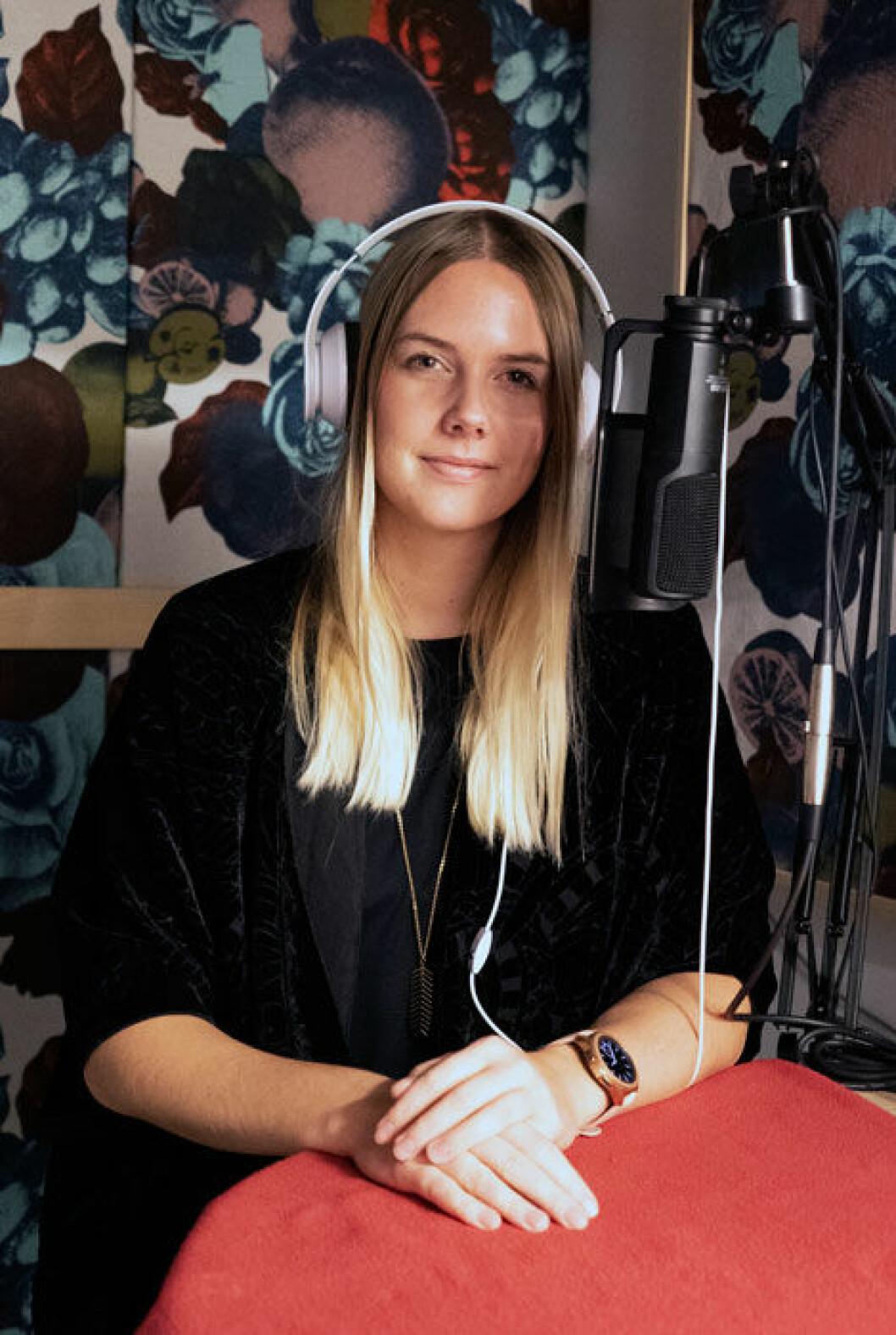 Nathalie Mark –redaktör för Menspodden.