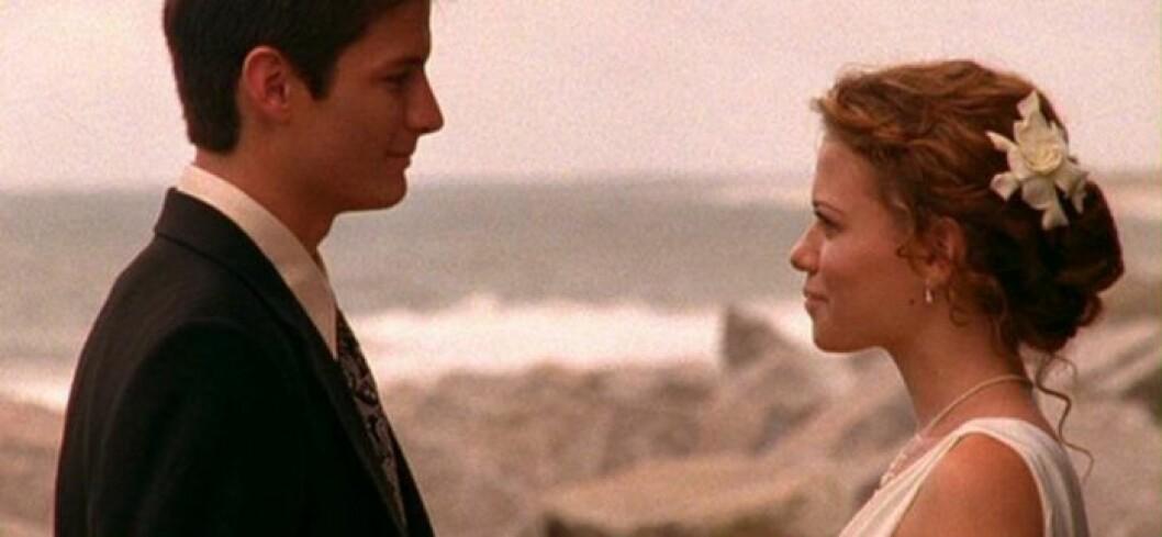 Nathan och Haley One Tree Hill