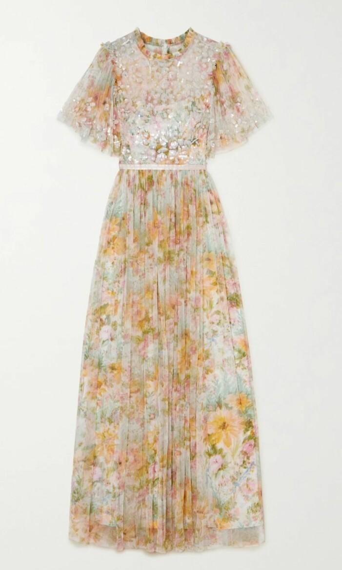 klänning från Needle & Thread