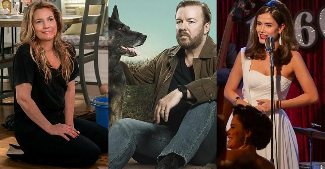 nya serier filmer netflix mars 2019