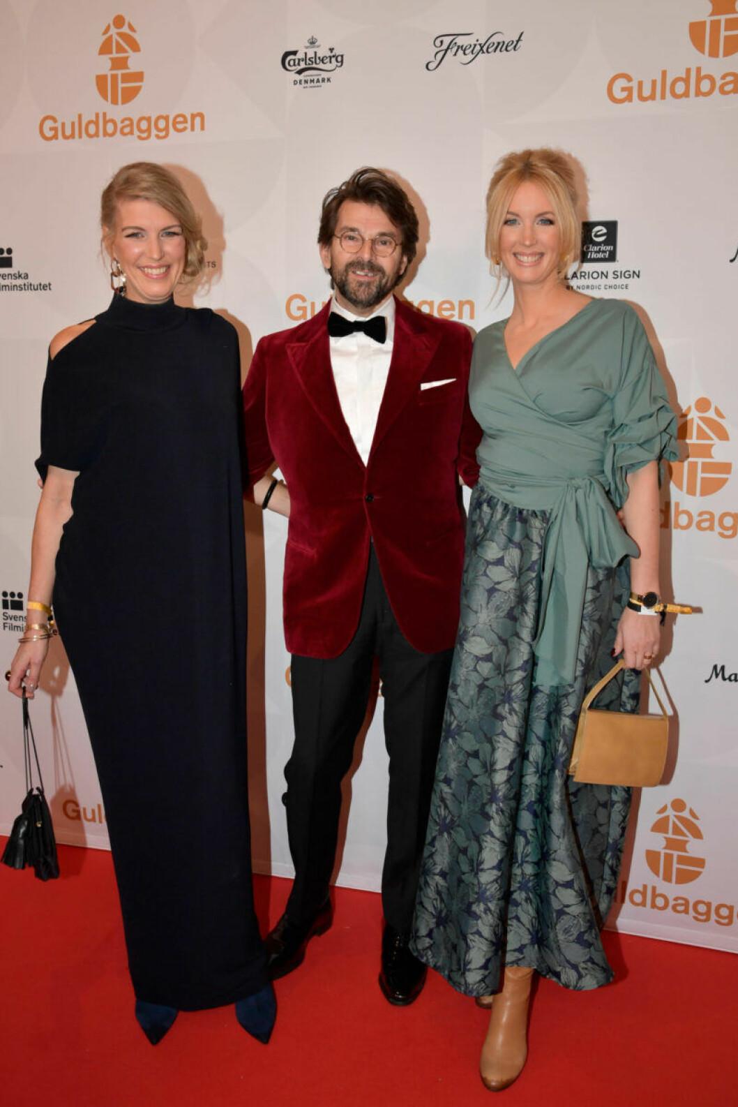Röda mattan, Niclas och jenny Strömstedt med sällskap