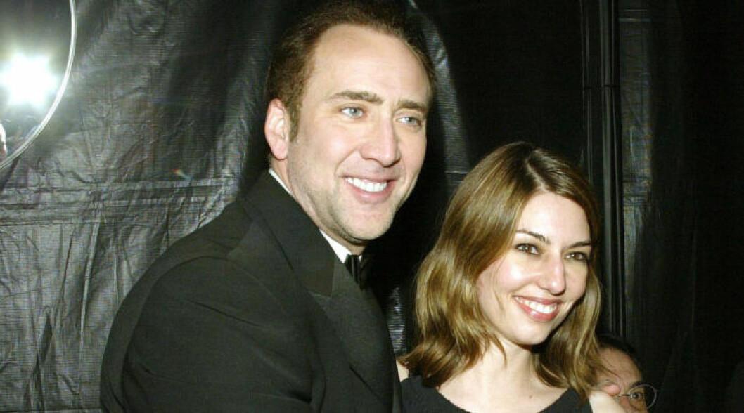 Sofia Coppola och Nicolas Cage