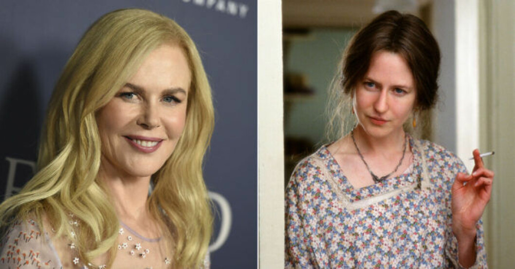 Nicole Kidman som Virginia Wolf i The Hours.