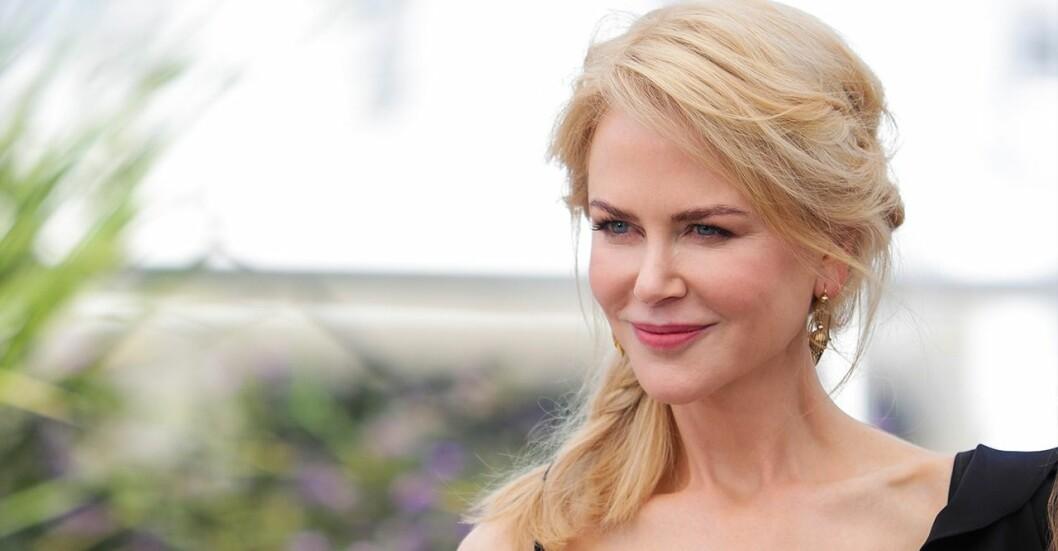 Nicole Kidman använde nattkräm med retinol, vitamin A.