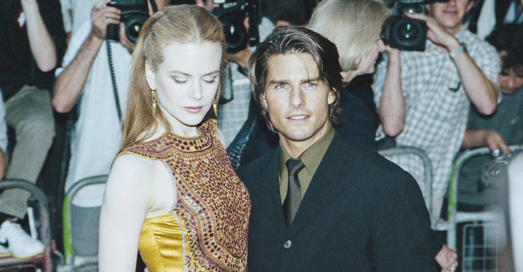 Nicole Kidman och Tom Cruise på gala.