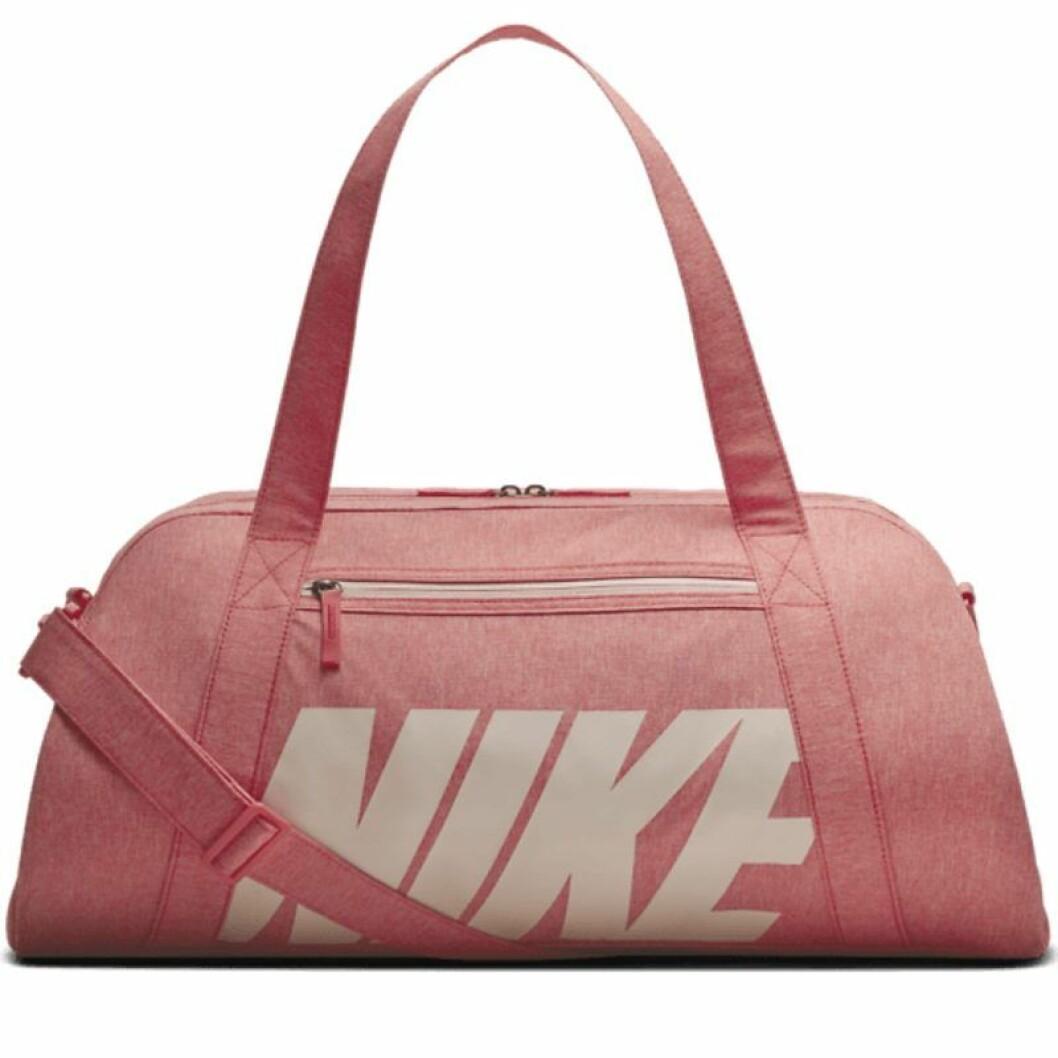 Rosa träningsväska från Nike