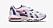 Chunky sneakers i vitt med lila och röda detaljer. Sneakers från Nike.